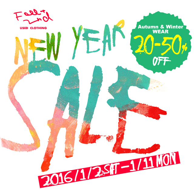 NEW YEAR SALE2016