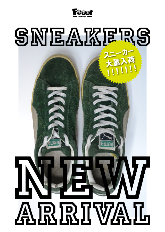 SNEAKERS NEW ARRIVAL
