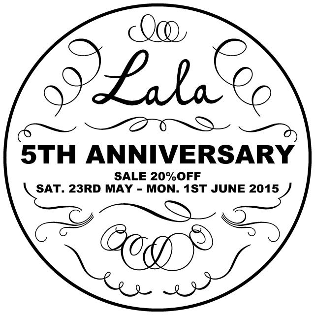 Lala5周年セール